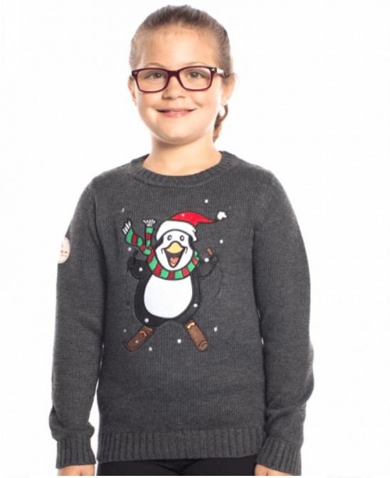 Børne pige juletrøje