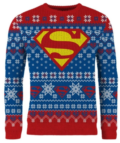 Superman julesweater