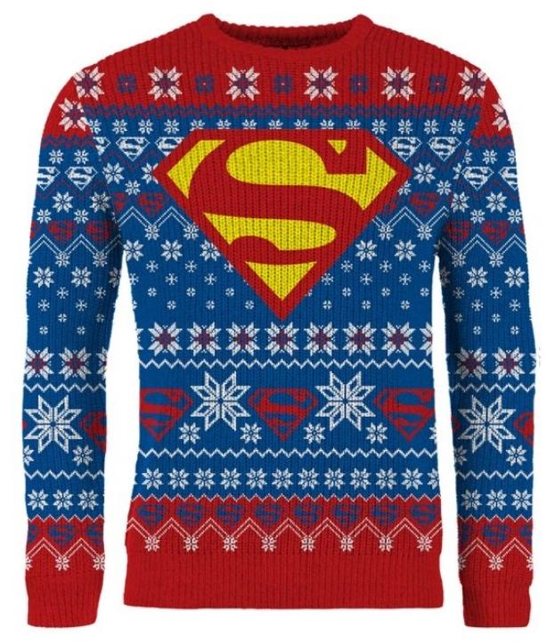 Superman juletrøje til herre