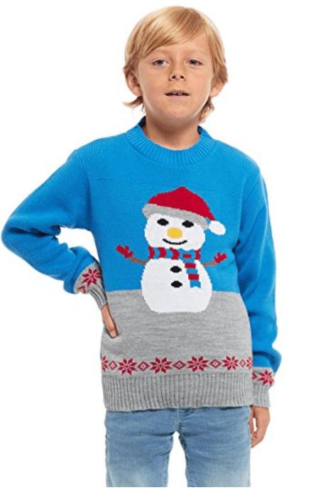Køb din børne juletrøje her på christmasjumper.dk
