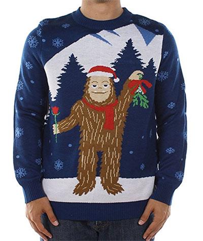 afskyelig julesweater