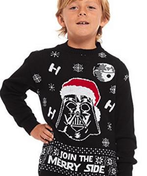 Børne Star Wars julesweater
