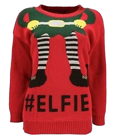 Elfie christmas jumper