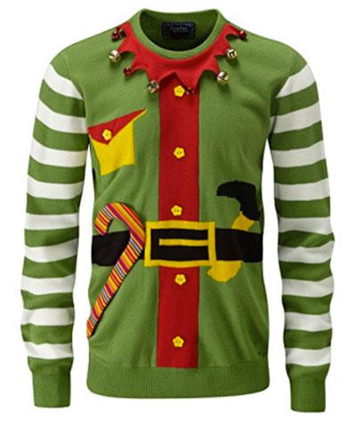 Køb din grønne Alf julesweater her på christmasjumper