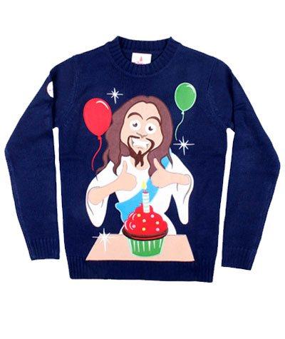 Happy Birthday, Jesus julesweater
