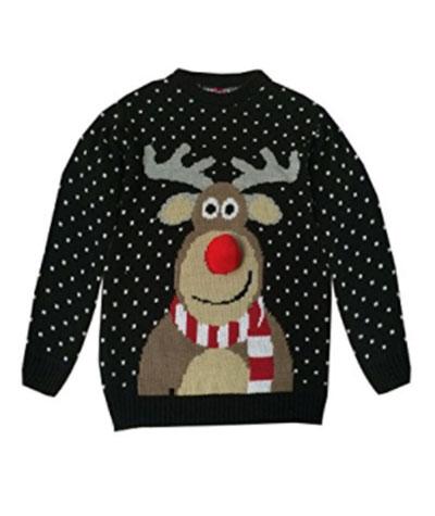 Køb din Rudolf julesweater her hos os
