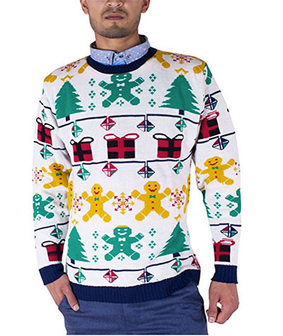 Retro julesweater