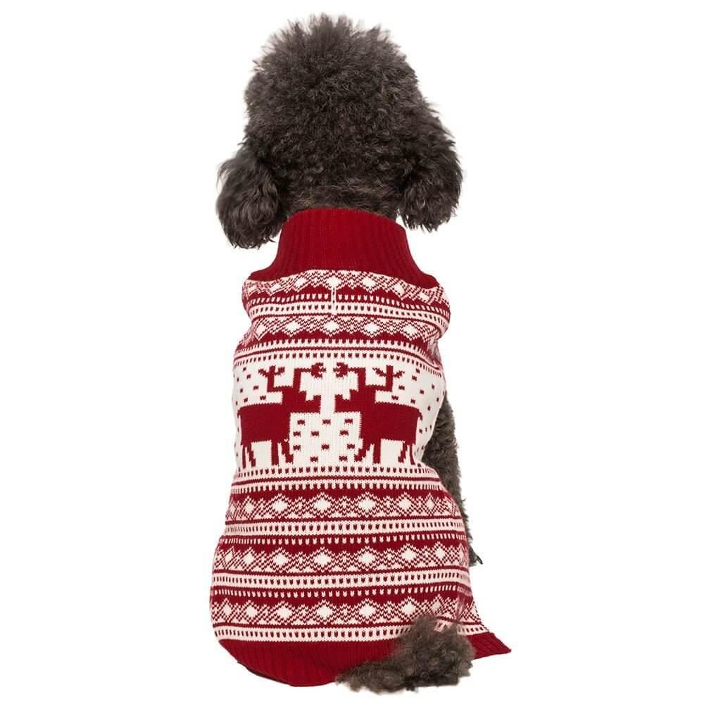 Hundesweater med mønster