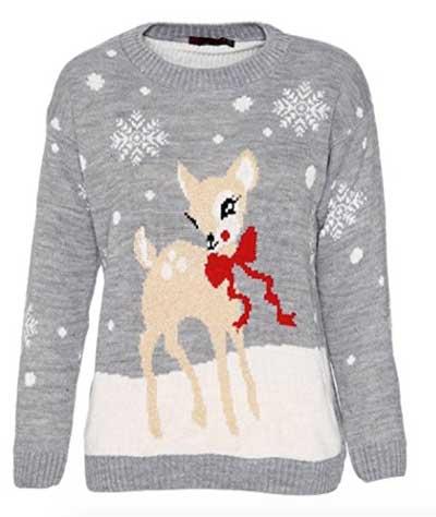 Bambi julesweater