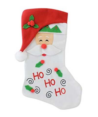 Jukesok med julemandsmotiv