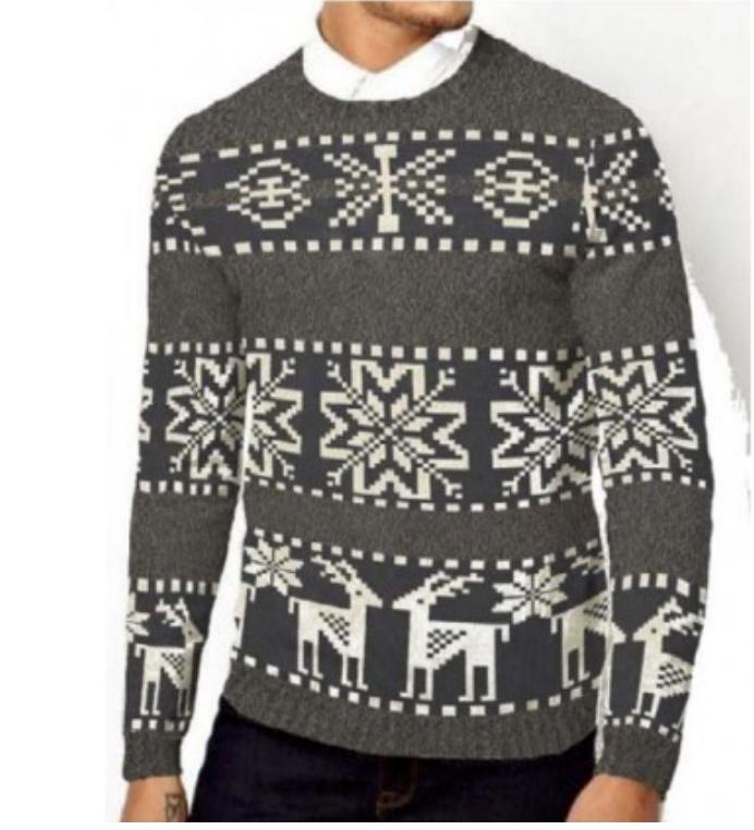 julesweater rolig
