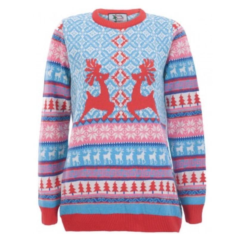julesweater rensdyrdans