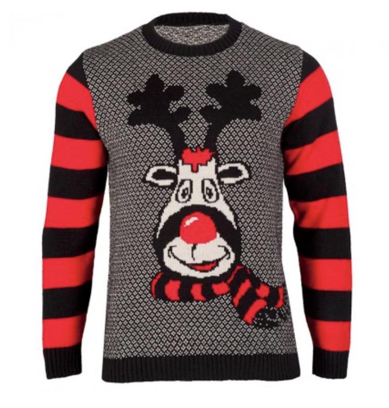 julesweater den røde tud