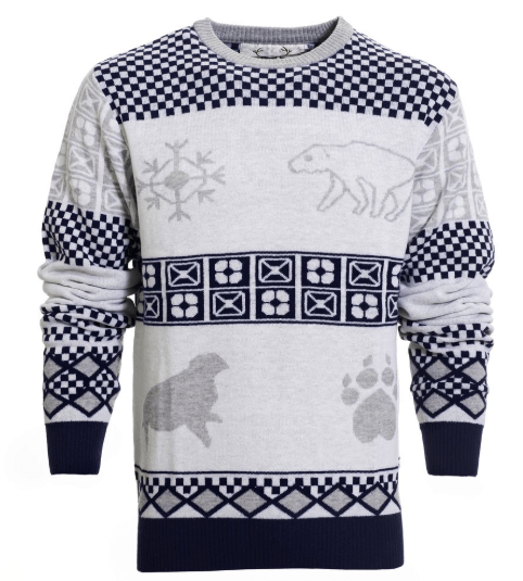Eksklusiv og stilfuld julesweater