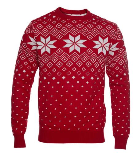 Flot og elegant julesweater
