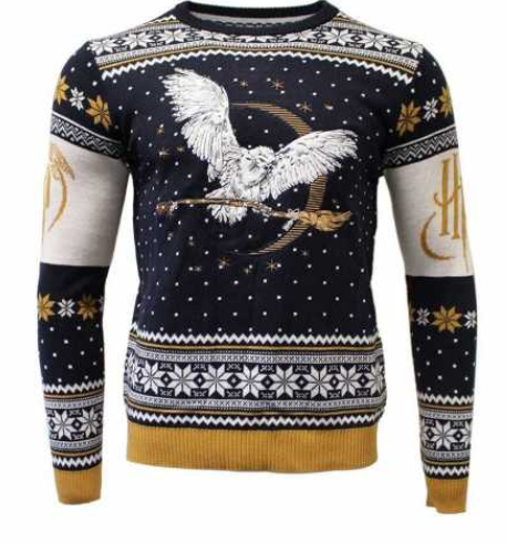 En super fed Harry Potter Julesweater