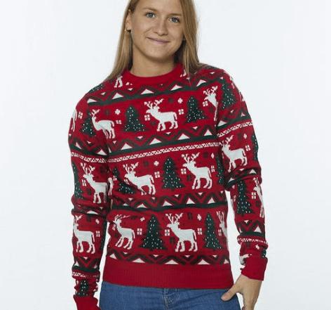 Julesweater til julefrokosten