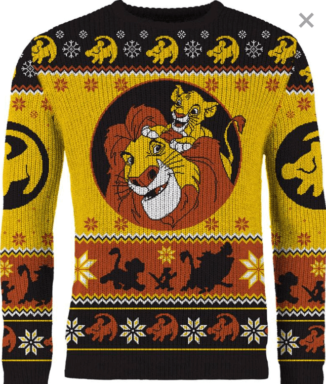 Lion King Christmas sweater