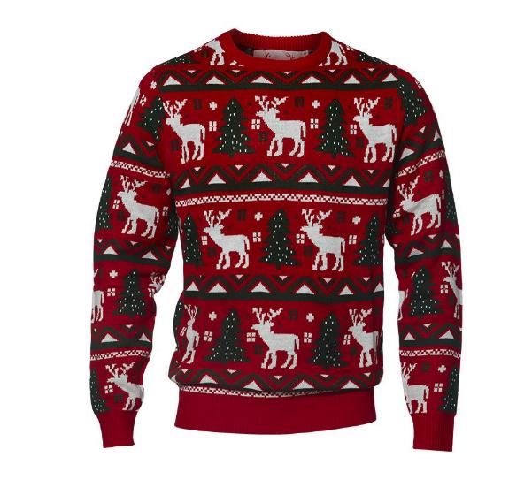 julesweater rensdyr