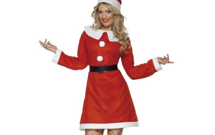 Rød Jule Kjole