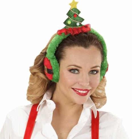 Sjove Juletræs Ørevarmere