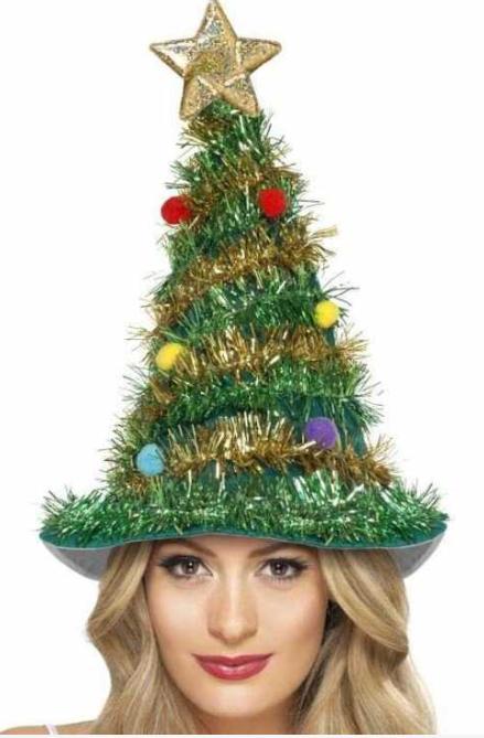 En sød og sjov Juletræshat