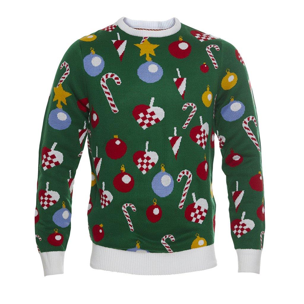 LED lys julesweater